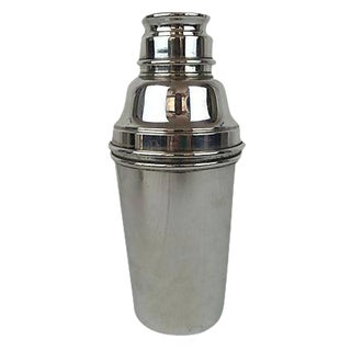 English Silver Plate Cocktail Shaker