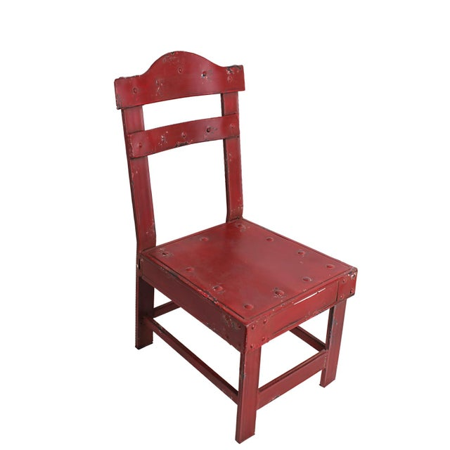 French Bistro Metal Chair - Image 1 of 4