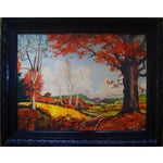 Image of California Plein Air Landscape Painting 1930's