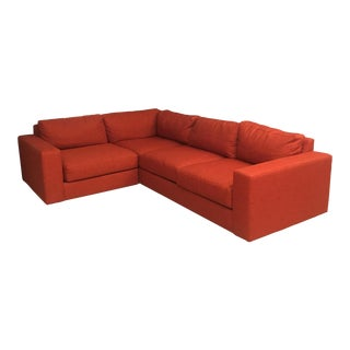 West Elm Cayenne Sectional