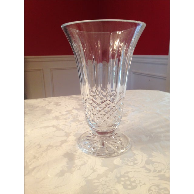 Image of Traditional Clear Crystal Vase