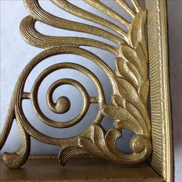 Antique Brass Radius Bookends - A Pair - Image 7 of 11