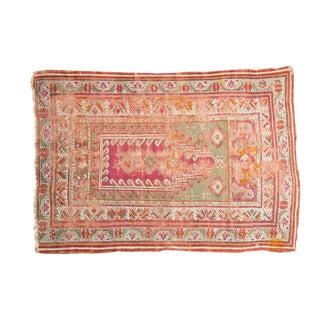 """Antique Mudjur Prayer Rug - 4'3"""" x 5'11"""""""