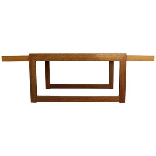 Paul Laszlo Wood Cocktail or Coffee Table