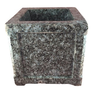 Arts & Crafts Glazed Terra Cotta Planter