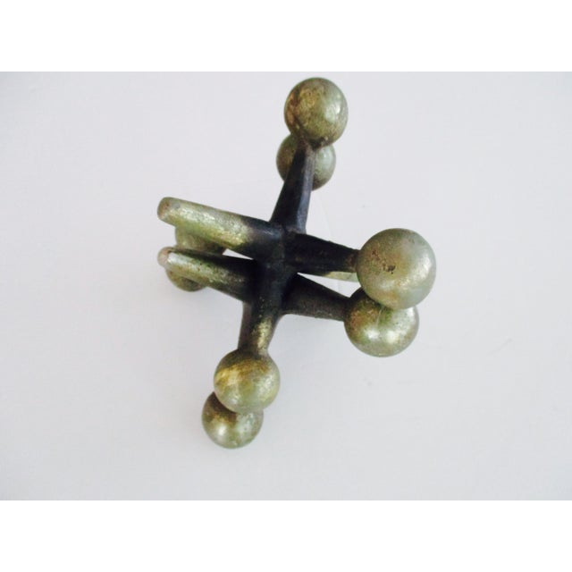 Cast Iron Jacks Bookends Bill Curry Mid Century - Image 10 of 11