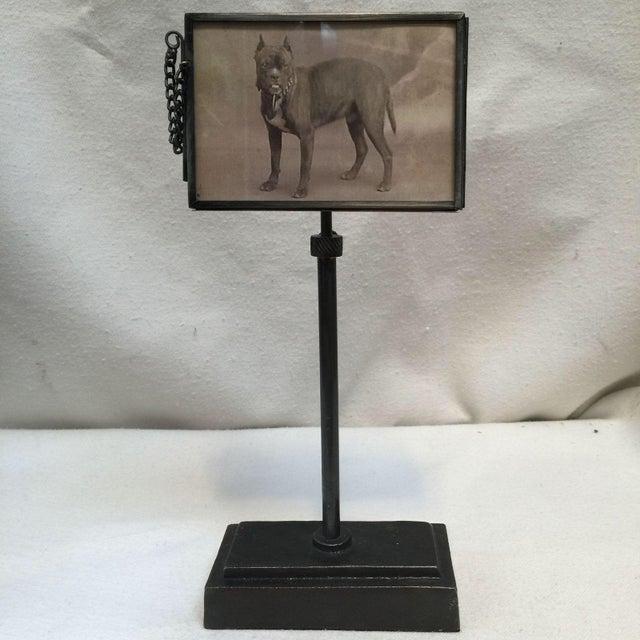 Vintage Metal Standing Picture Frames - Set of 4 - Image 7 of 8
