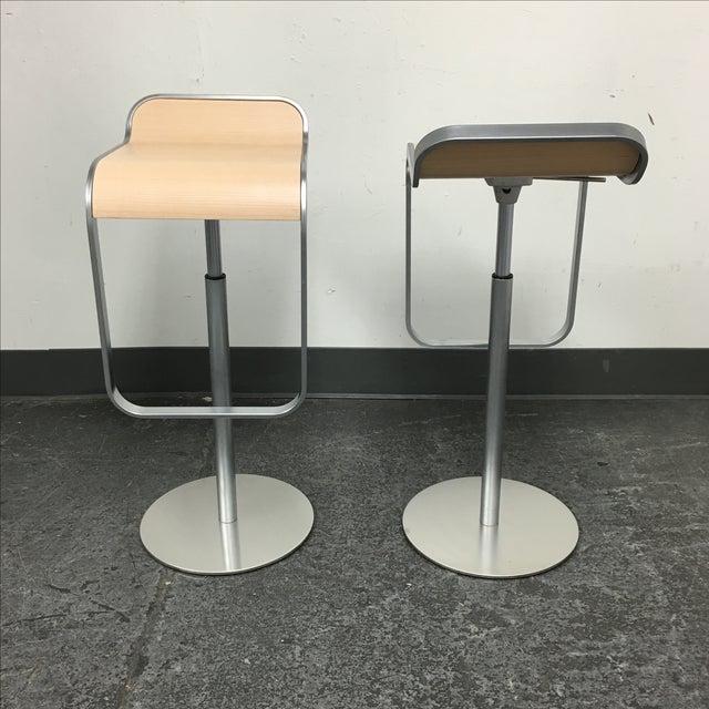 Lapalma Lem Adjustable Barstools - Pair - Image 5 of 8