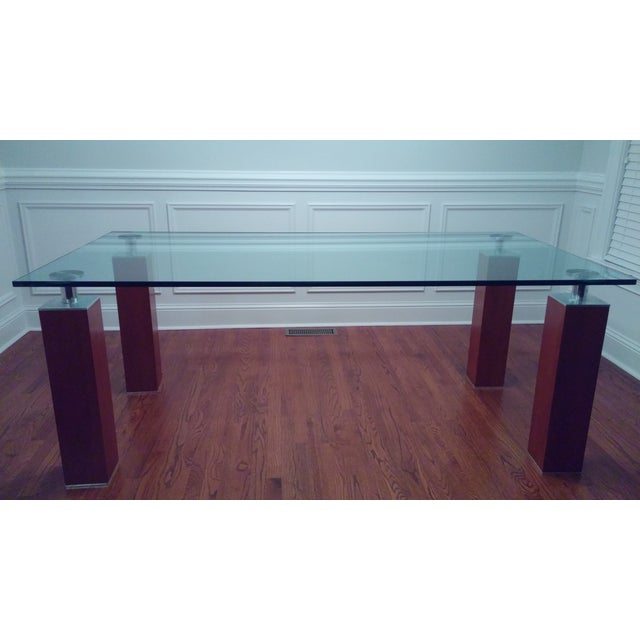Modern Glass Dining Table From Bova - Image 7 of 8