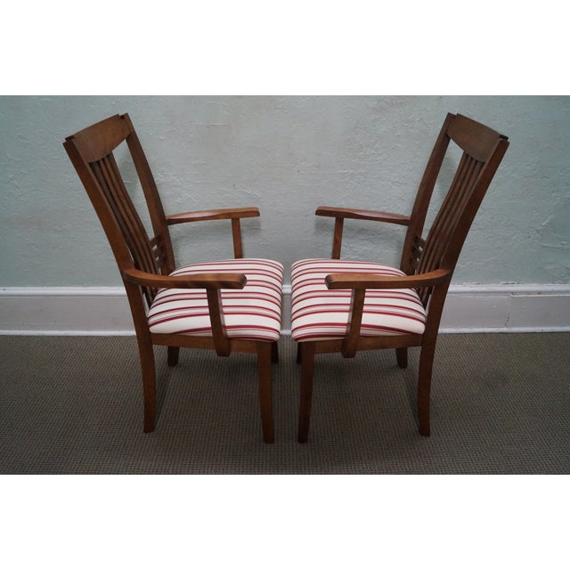 Bermex Traditional Maple Wood Dining Chairs - 6 - Image 6 of 10