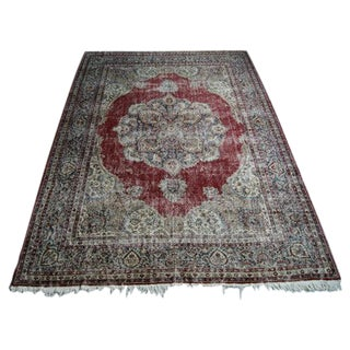 "Antique Anatolian Area Rug - 8'2"" X 11'9"""