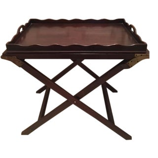 "Baker ""Party Butler"" Serving Tray Table"