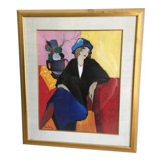'Breakfast at Colorova Patisserie' Painting