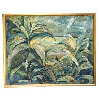 "Marylou Kuh ""Foliage"" Painting"