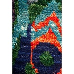 """Image of New Ikat Hand Knotted Area Rug - 7'10"""" x 10'2"""""""