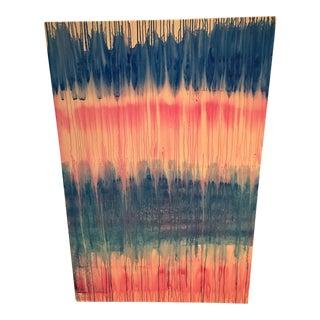 """Performance"" Large Abstract Original Acrylic Painting by Ellan Maynard"