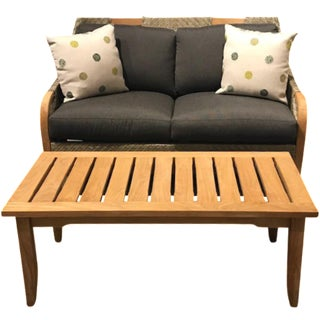 Lane Venture Edgewood Outdoor Loveseat & Cocktail Table Set