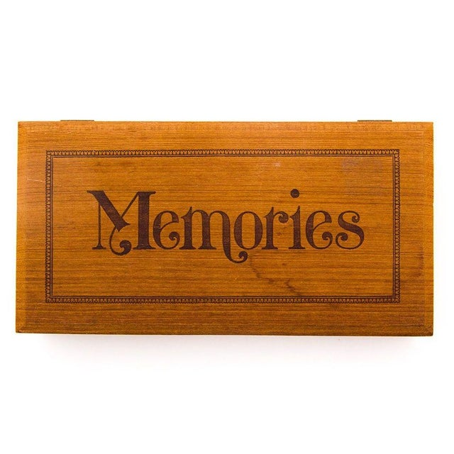 Image of Wooden Photo Box