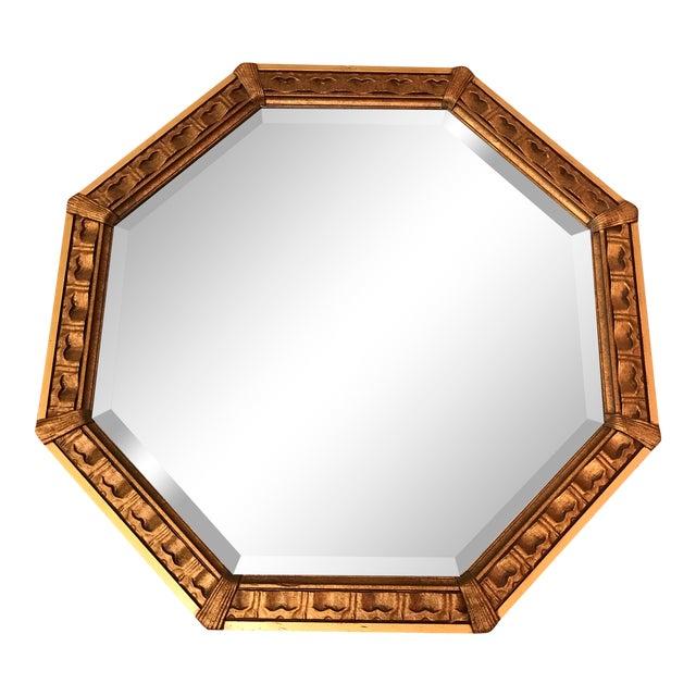 Vintage Octagonal Gilded Mirror - Image 1 of 7