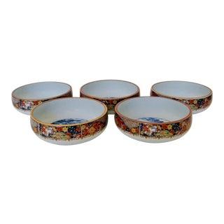 Japanese Imari Bowls -Set of 5