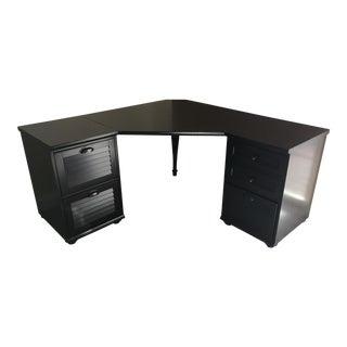 Pottery Barn 5-Drawer Whitney Corner Desk