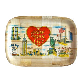 Vintage New York City Souvenir Trays - Set of 12