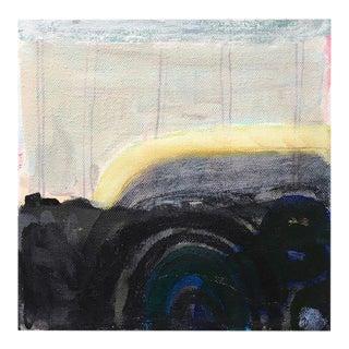 "Neicy Frey Original ""Manito Basalt Bridge"" Abstract Painting"