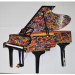 """Image of Roark Gourley """"Pollok Piano"""" Wall Sculpture C.1980"""