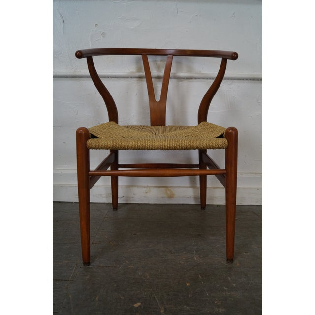 Hans Wegner Carl Hansen & Son Danish Modern Wishbone Chairs- A Pair - Image 5 of 10