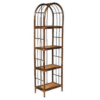1960s Bamboo Shelf