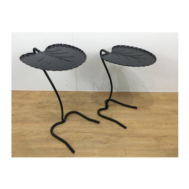 Salterini Lily Pad Nesting Tables - a Pair - Image 4 of 6