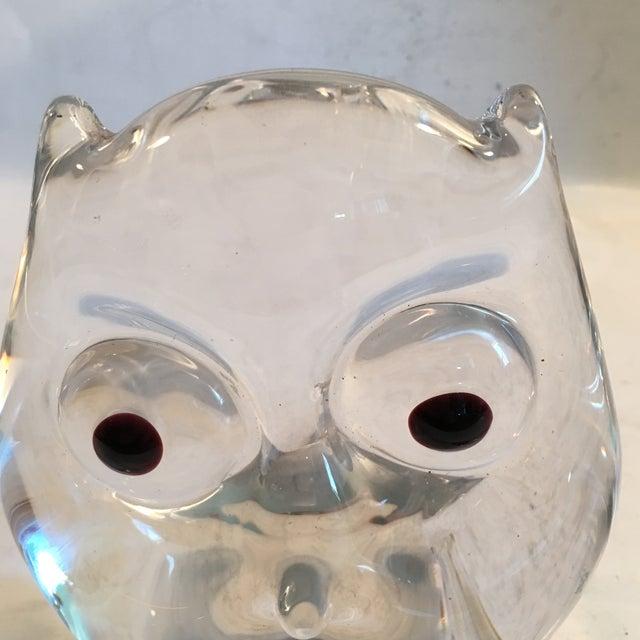 Vintage Art Glass Owl - Image 3 of 8