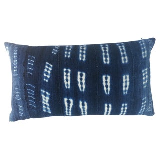 Mali Indigo Lumbar Pillow