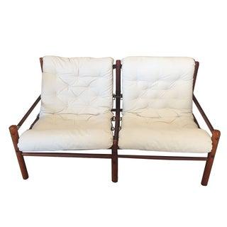 Arne Norell Mid-Century Modern Tufted Settee Sofa