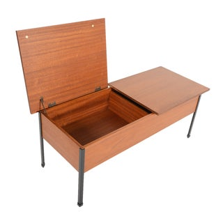 Myer's Twin Box Teak Storage Chest