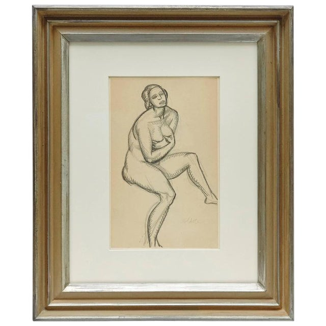 Andre Lhote Drawing in Pencil - Image 1 of 7
