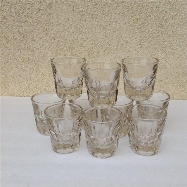 Vintage Rocks Glasses - Set of 10 - Image 2 of 11