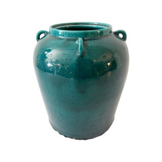 Turquoise Cabbage Jar