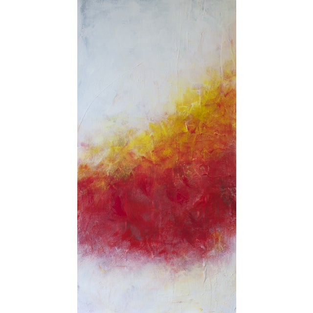 'Solar Flare IV' Abstract Painting - Image 1 of 2