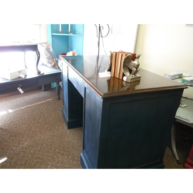 Antique Painted Federal Style Desk - Image 9 of 11