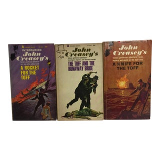 John Creasey 1960s Mystery Books - Set of 3