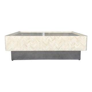 Tessellated Bone Coffee Table