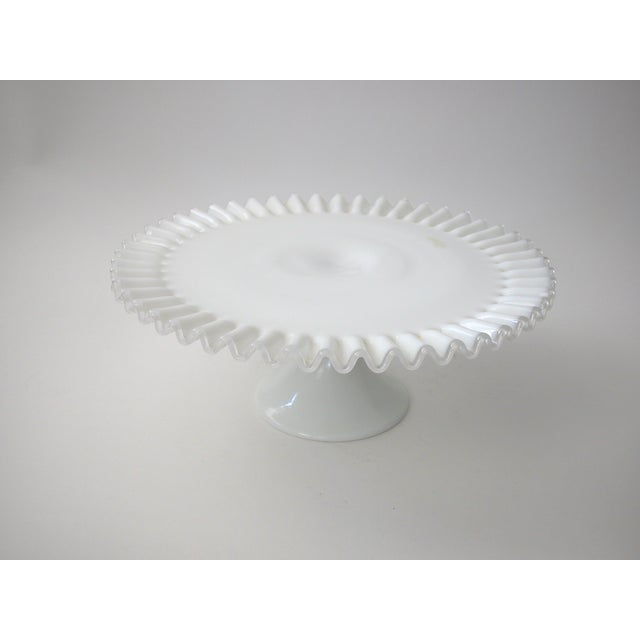 Fenton Silver Crest Cake Stand - Image 6 of 7