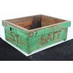 Image of Reclaimed Wood Green Garden Box