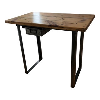 Counter Height Wood Table