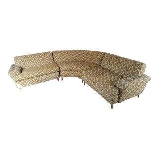 Mid-Century Kroehler Sectional Sofa