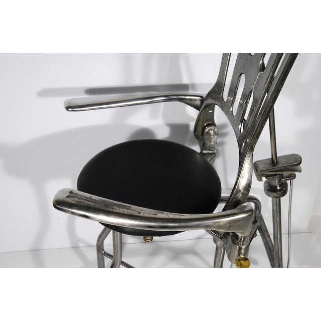 1930s Vintage Adjustable Dental Chair - Image 7 of 8