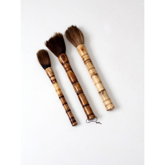 Antique Calligraphy: Antique Chinese Calligraphy Brush Collection