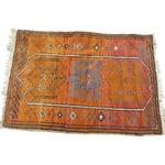 Image of Vintage Orange Turkish Rug