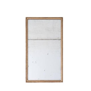 French Early 19th Century Gold Gilt Mirror
